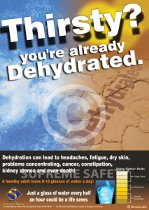 Dehydration2 poster