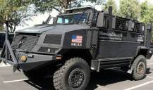 DHS Armored Vehicles in American Streets