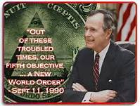 GH Bush - New World Order