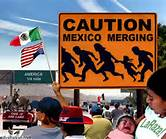 Caution Mexico Merging