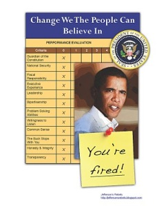Obama - You're Fired