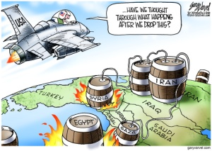 Cartoonist Gary Varvel: The chain reaction to attacking Syria