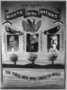 Poster, 1945